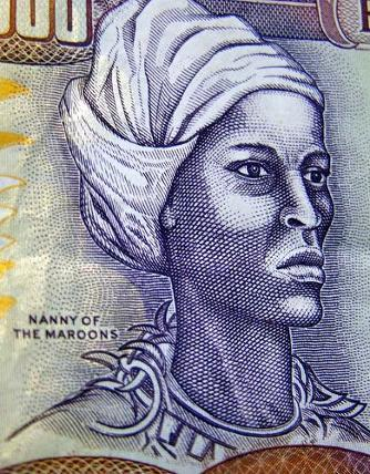 Queen Nanny of the Maroons (born in the Asante region of Ghana)